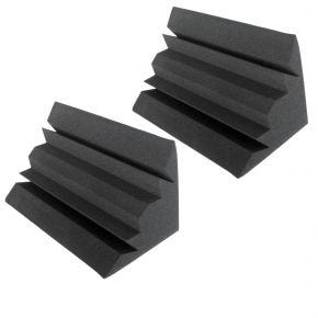 Pair of Large Bass Traps Sound Foam Acoustic Treatment SA8600