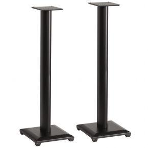 Pair of 90cm Sanus Natural Series NF36 Wood Speaker Stands for Bookshelf Speakers