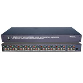 Shinybow SB3733 1GHz 1 in 8 out Component Video & Digital Audio AV Distribution Amplifier