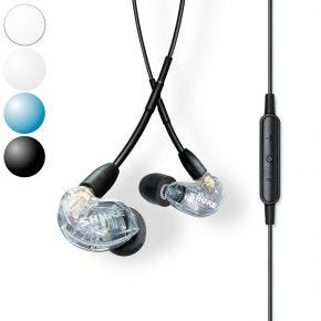 Shure SE215+UNI In-Ear Earphones with Universal mic+remote