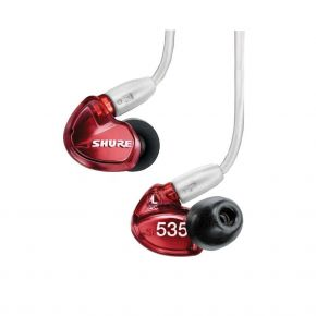 SE535LTD Red Special Edition Sound Isolating In-Ear Earphones SE535-RD