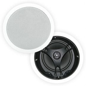 "Selby 6.5"" Poly Cone Angled In Ceiling Speakers Pair XD6204.x2"