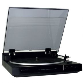 Sherwood F-700 Fully Automatic Belt Drive Turntable with Built-In Pre Amp F700