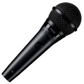 Shure PGA58XLR Dynamic Cardioid Vocal Microphone with Mic Clip & XLR Cable