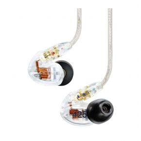 Shure SE425-CL In-Ear Sound Isolating Earphones (Clear) SE425CL