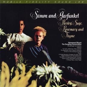 Simon & Garfunkel - Parsley, Sage, Rosemary and Thyme MoFi LP Numbered