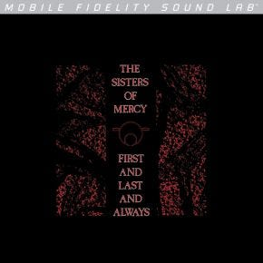 Sisters Of Mercy - First And Last And Always MoFi Silver Label LP Numbered