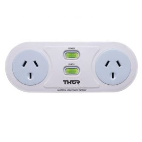 Thor C2 Smart Filter Duo 2 Twin Filtered Surge Protected AC Outlets