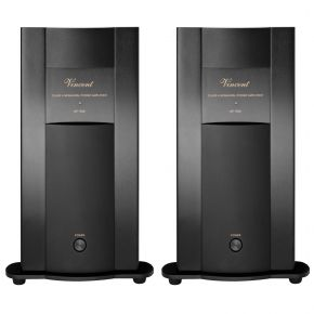 Pair of Vincent SP-998 Monoblock Power Amplifiers Black