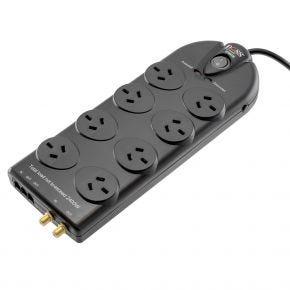 DOSS 8 Way Surge Protected Pro Series SurgeMaster Powerboard SPB81B