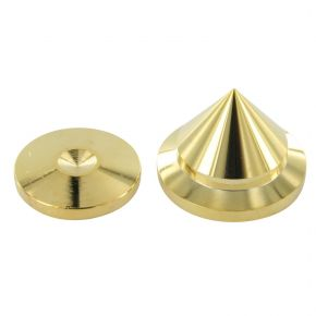 NR 22mm Gold Plated Speaker/Equipment Isolation Cone Spike31