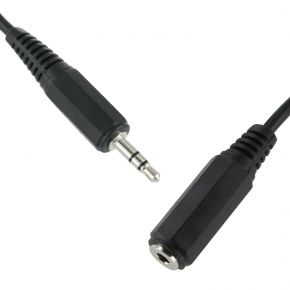 3.5mm Stereo Audio Extension Cable AUX / Headphones SJ8022