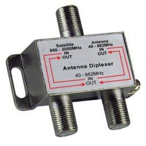 Avico Video Diplexer TV Satellite Antenna F-Type Signal Combiner or Splitter STV100
