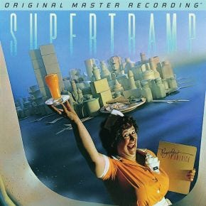 MoFi Supertramp - Breakfast In America LP Numbered