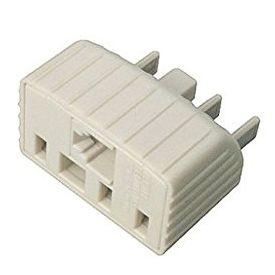 Avico Telephone Adaptor Australian Plug to Australian + US Modular Socket TA17