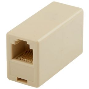 Avico Telephone Adaptor US Modular Socket To US Modular Socket 6P4C TA30