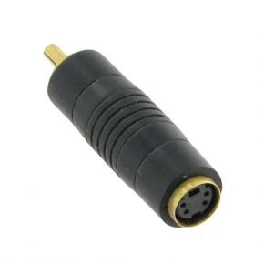 ISIX SVHS Female - RCA Composite Male Adaptor ugSVHS01
