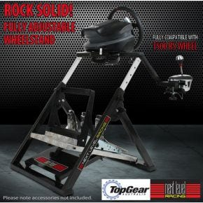 Racing Wheel Stand for Next Level Racing GTultimate V2 Racing Simulator Cockpit