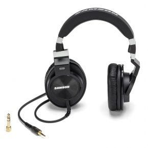 Samson Z55 Professional Studio Audiophile Headphones for Recording and Mixing