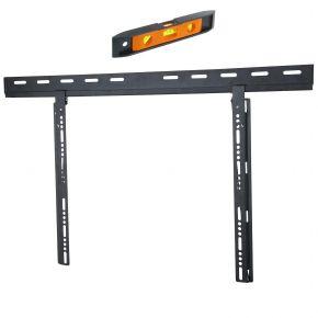 "37-60"" inch Slimline Flat LCD LED Plasma TV Slim Flat Wall Mount Bracket PLB125b.bl"