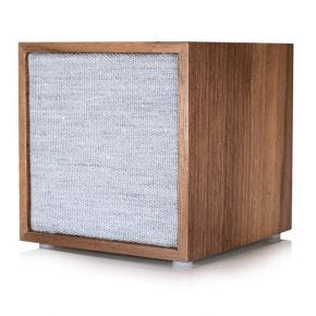 Tivoli Cube Bluetooth Speaker Walnut/Grey CUBWLT