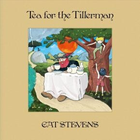 Cat Stevens - Tea For the Tillerman 50th Anniversary 2LP + 5CD + Blu-Ray Box Set