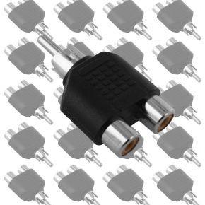 20x RCA Double Adaptors 1M-2F Y1920.20pk