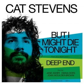 """Cat Stevens - But I Might Die Tonight Limited 7"""""""
