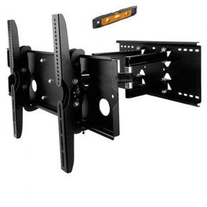 32-60 Inch LED LCD Plasma TV Tilt Swivel Pivot Wall Mount Bracket Black PLB110B.bk