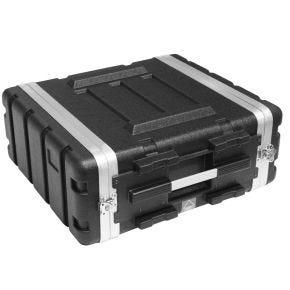 4U 4RU 19in Rack Road Case ABS4U