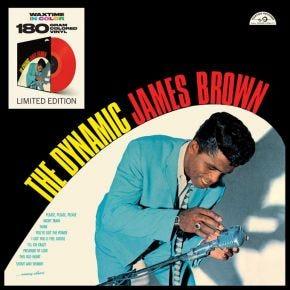 James Brown - Dynamic James Brown 180g LP Solid Red Vinyl