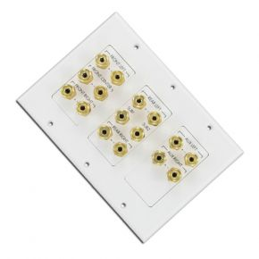 7.1 Surround Sound Wall Plate SWP7.1