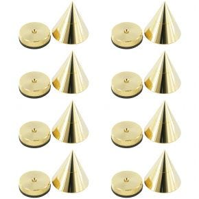 8 Pack of 30mm Isolation Cones/Spikes Spike30.8pk