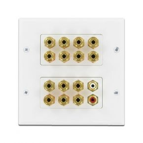 7.2 Home Theatre Speaker Wall Plate A1144B
