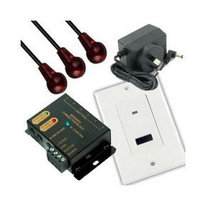 IR Repeater Remote Control Extender Wall Plate Kit A1148A