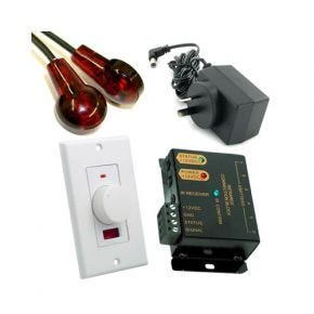 Remote Control Extender Kit with IR Sensor Wall Plate A1210