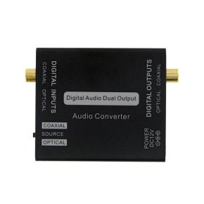 Two-way/Dual Toslink Coaxial Digital Audio Converter A1287