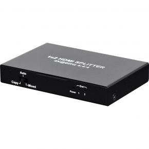 2-Way HDMI Splitter 4K 18GBps A3134E