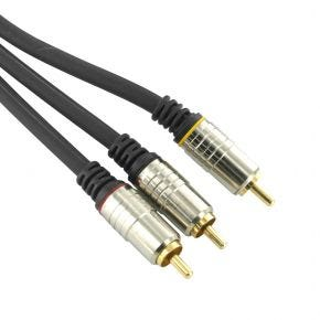 6m Avico 3RCA AV Composite Audio Video Cable Lead Gold Plated HTC4600