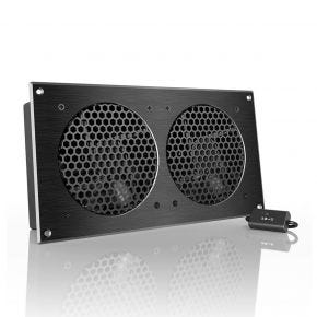 AC Infinity Airplate S7 2 x 120mm Cabinet Cooler