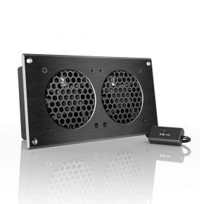 AC Infinity Airplate S5 2 x 80mm Cabinet Cooler
