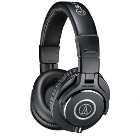 Audio-Technica ATH-M40x Black Over-Ear Headphones