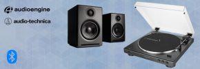 Audioengine + Audio-Technica Bluetooth Vinyl Package