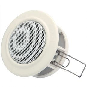 "Avico 2.5"" Mini Ceiling Speaker 6W with 100v Line Transformer"