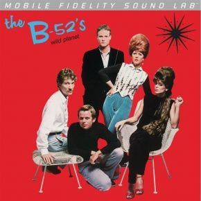 The B-52's - Wild Planet MoFi LP Numbered