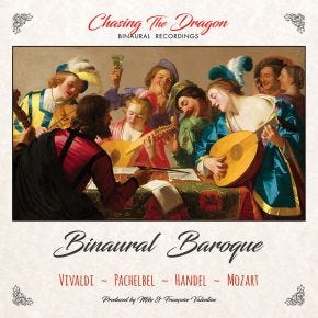 Binaural Baroque Chasing The Dragon Binaural CD