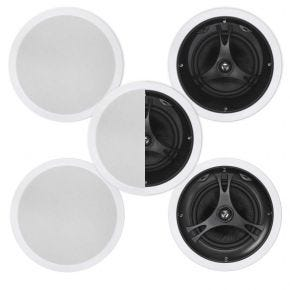 "Selby 8"" In-Ceiling 5 Speaker Surround Pack"