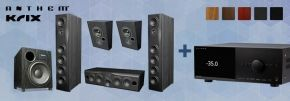 Krix Neuphonix 5.1 + Anthem MRX-1140