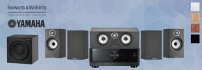 Bowers & Wilkins 607 S2 Anniversary Edition Theatre 5.1 + Yamaha RX-V4A