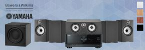 Bowers & Wilkins 606 S2 Anniversary Edition Theatre 5.1 + Yamaha RX-V6A